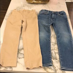 Jcrew Crewcuts boys sz 7 khakis & jeans slim fit